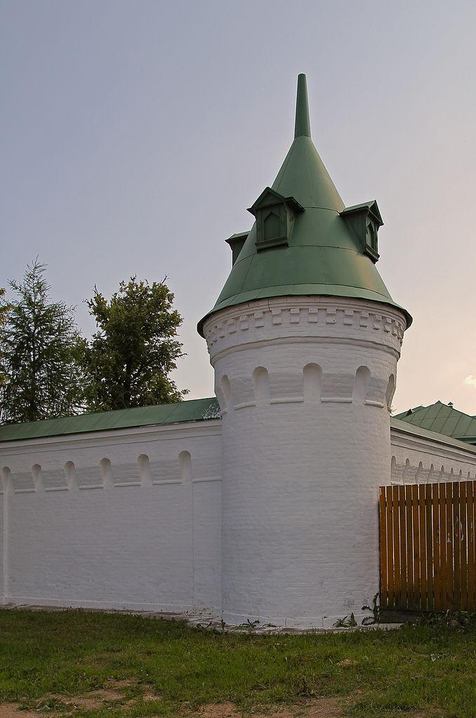 Аносин Борисоглебский монастырь, кусок монастырской стены