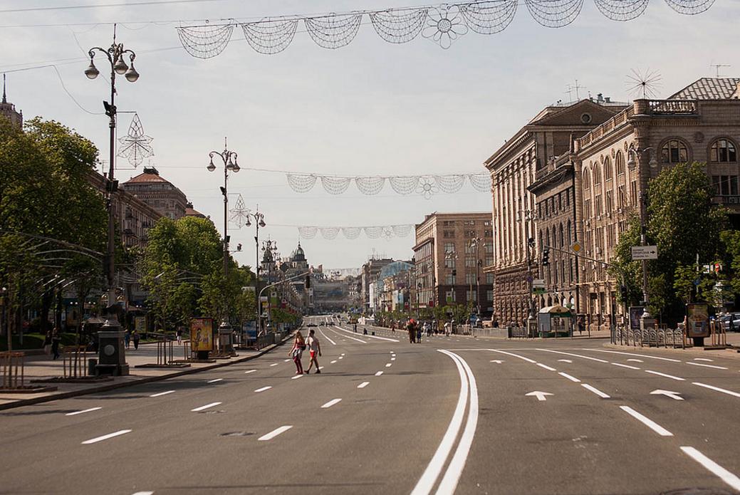 Главная улица Киева