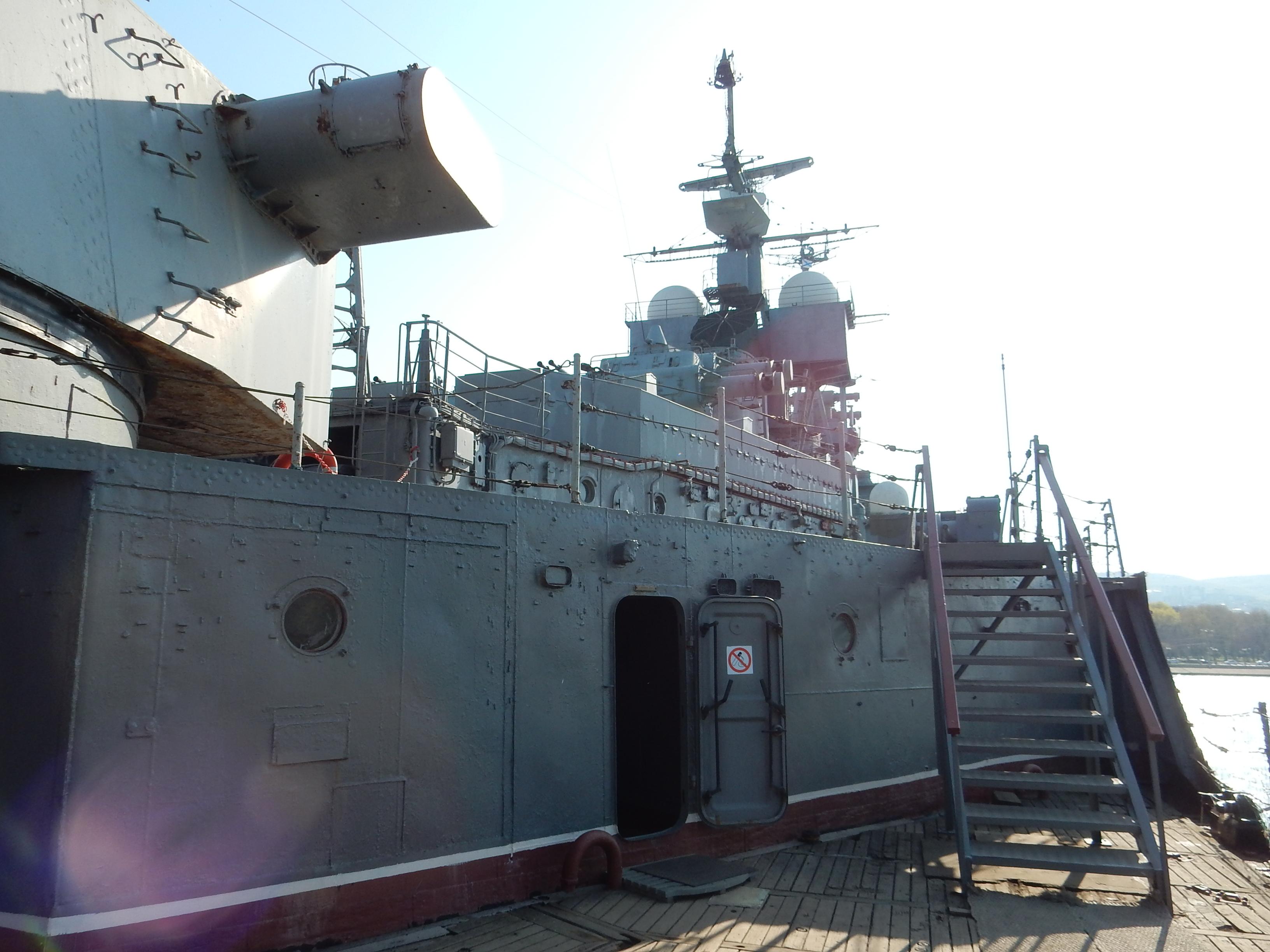 Палуба крейсера