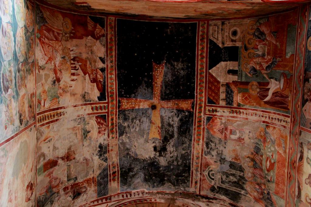 Роспись в церкви, Гелатский монастырь, Гелати