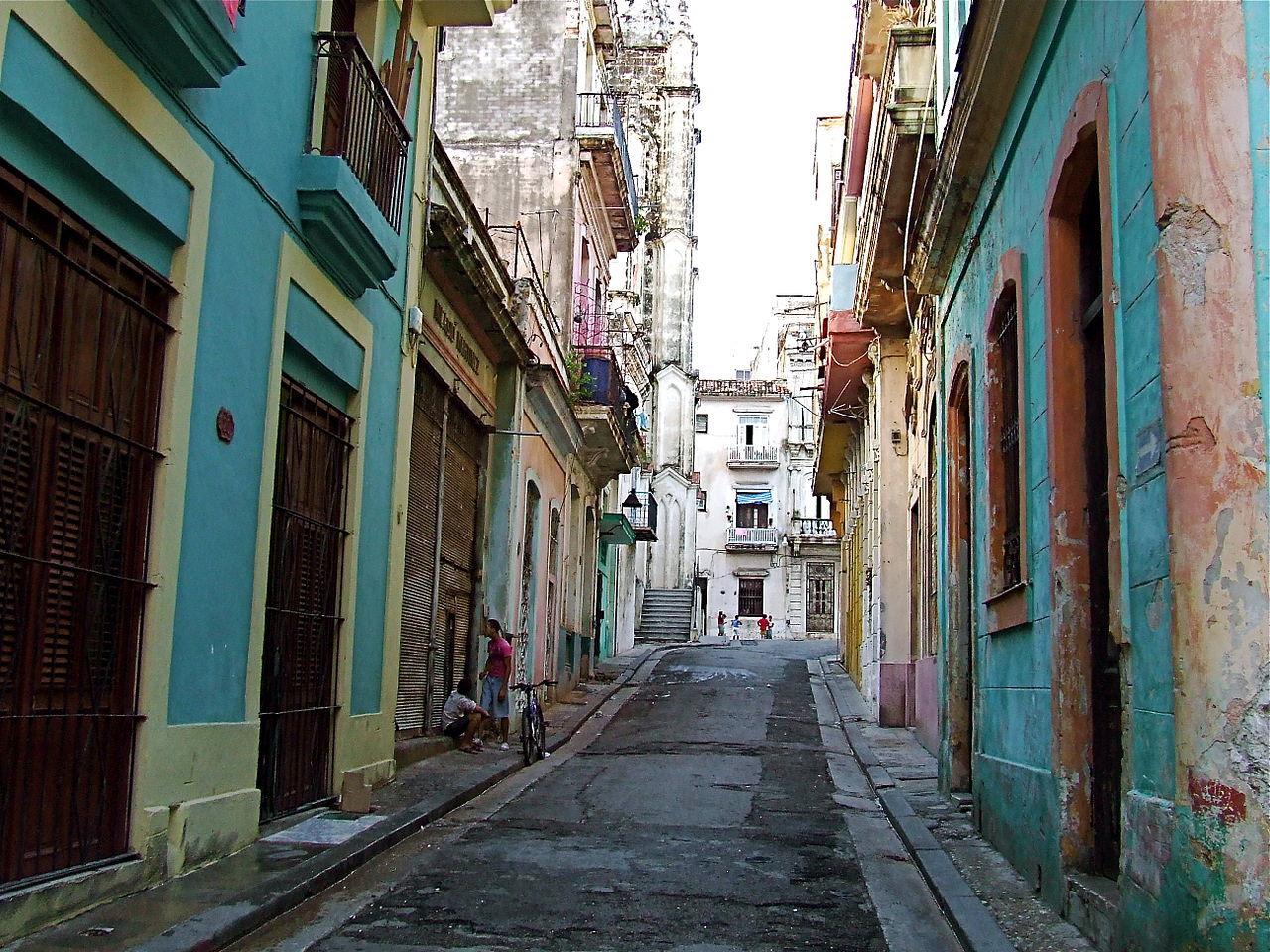 Старая Гавана, старые улицы