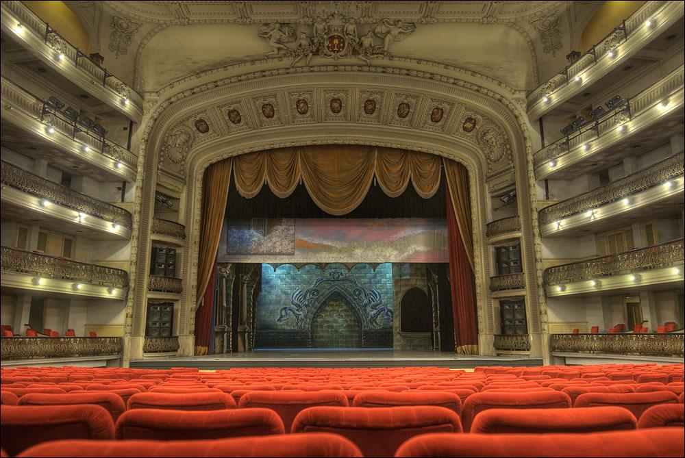 Большой театр Гаваны, зал и сцена
