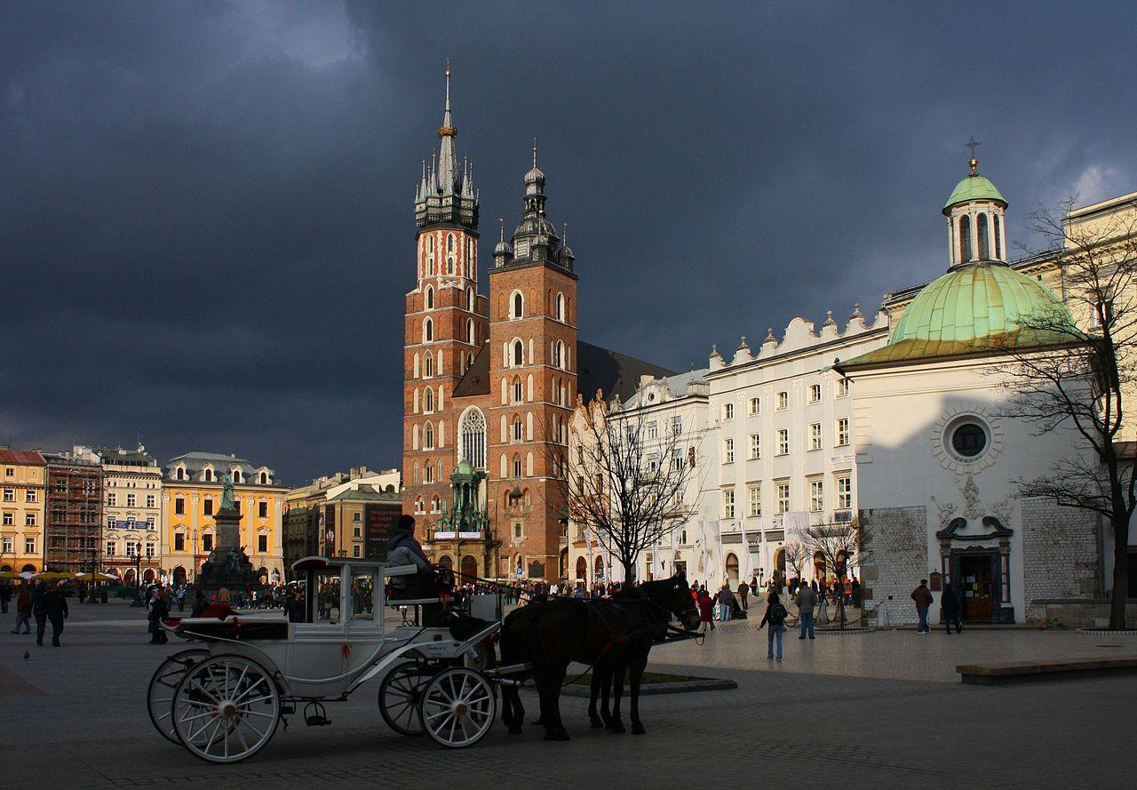 Рыночная площадь Кракова, Мариацкий костёл
