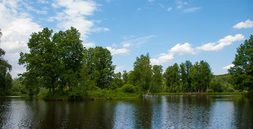 Усадьба Середниково, Барский пруд