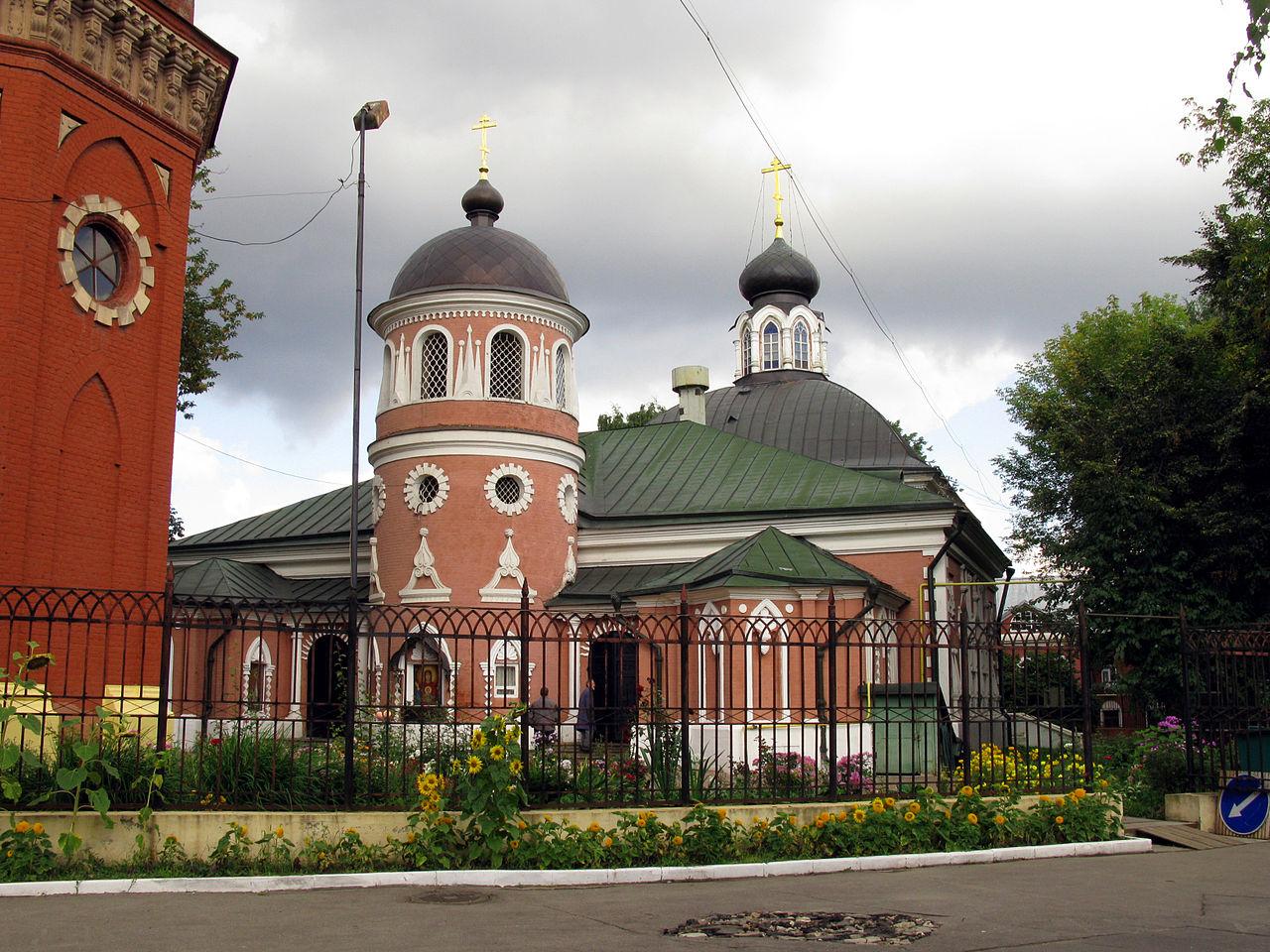 Церковь Николая Чудотворца (Успения Пресвятой Богородицы) на Преображенском кладбище