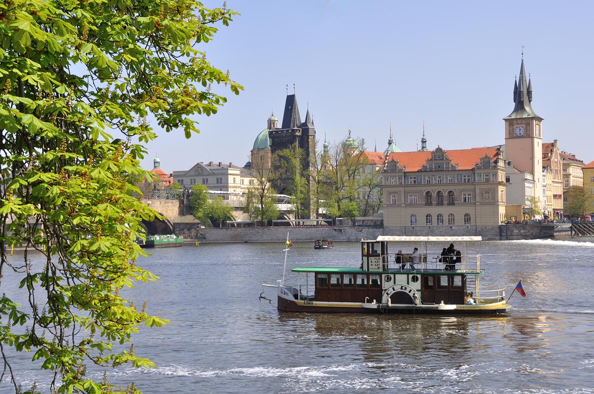Вид на район Градчаны, Прага