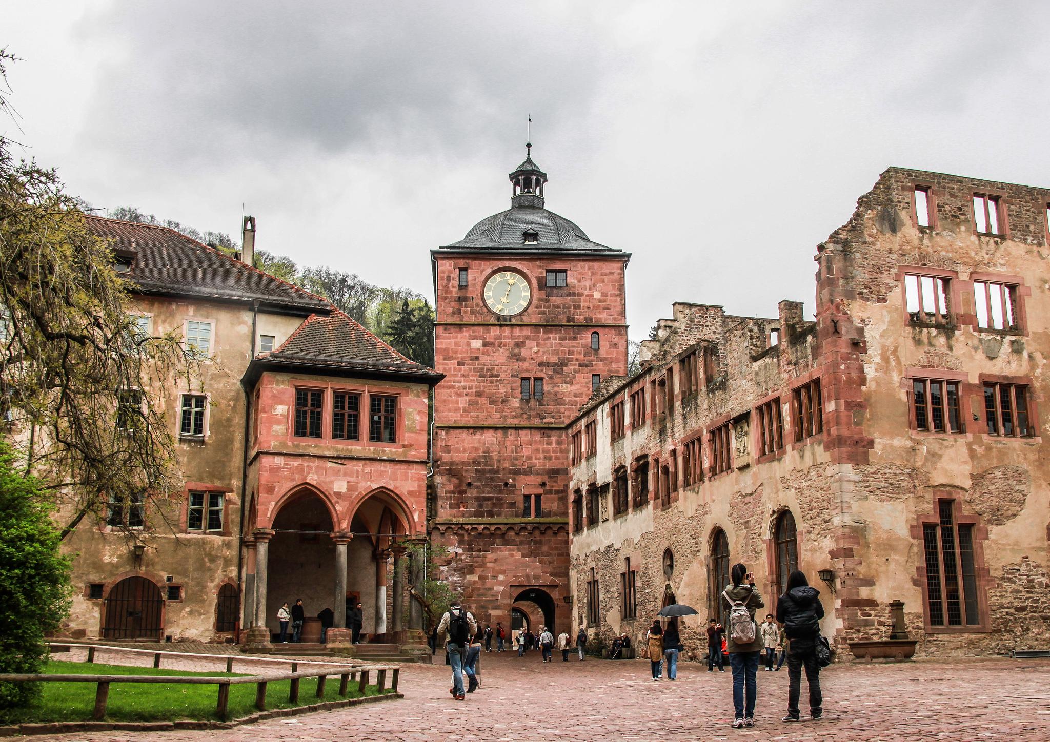 Главные часы, Гейдельбергский замок