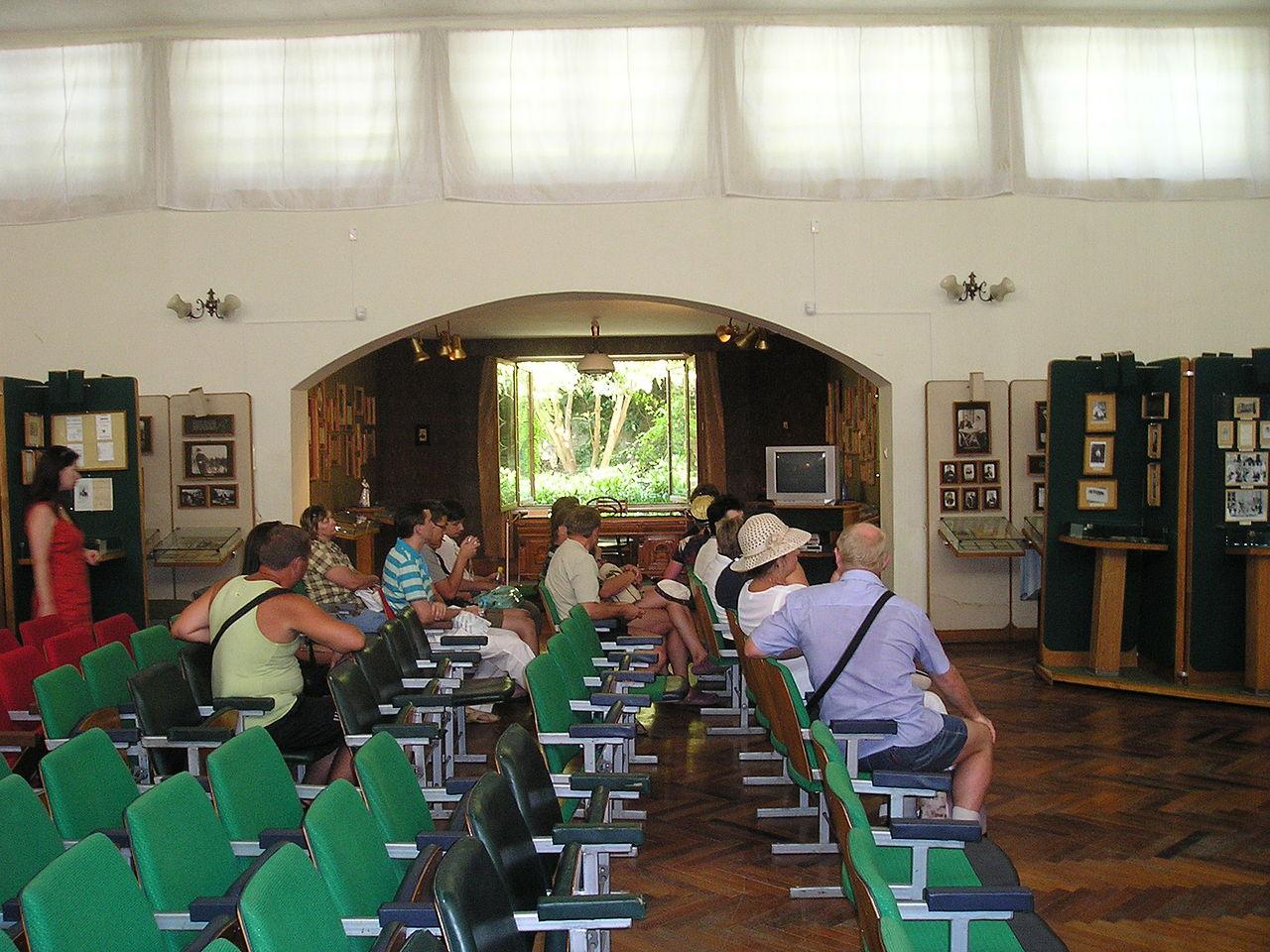 Дом-музей А. П. Чехова в Ялте, зал