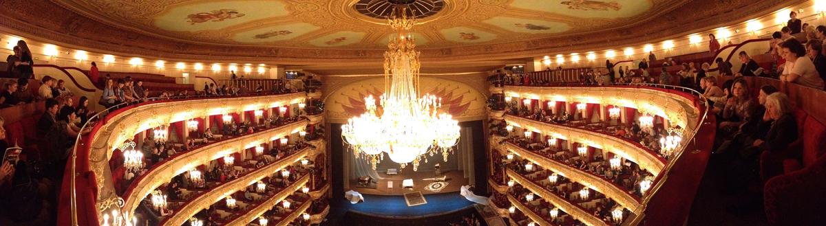 Интерьер Большого театра, Москва