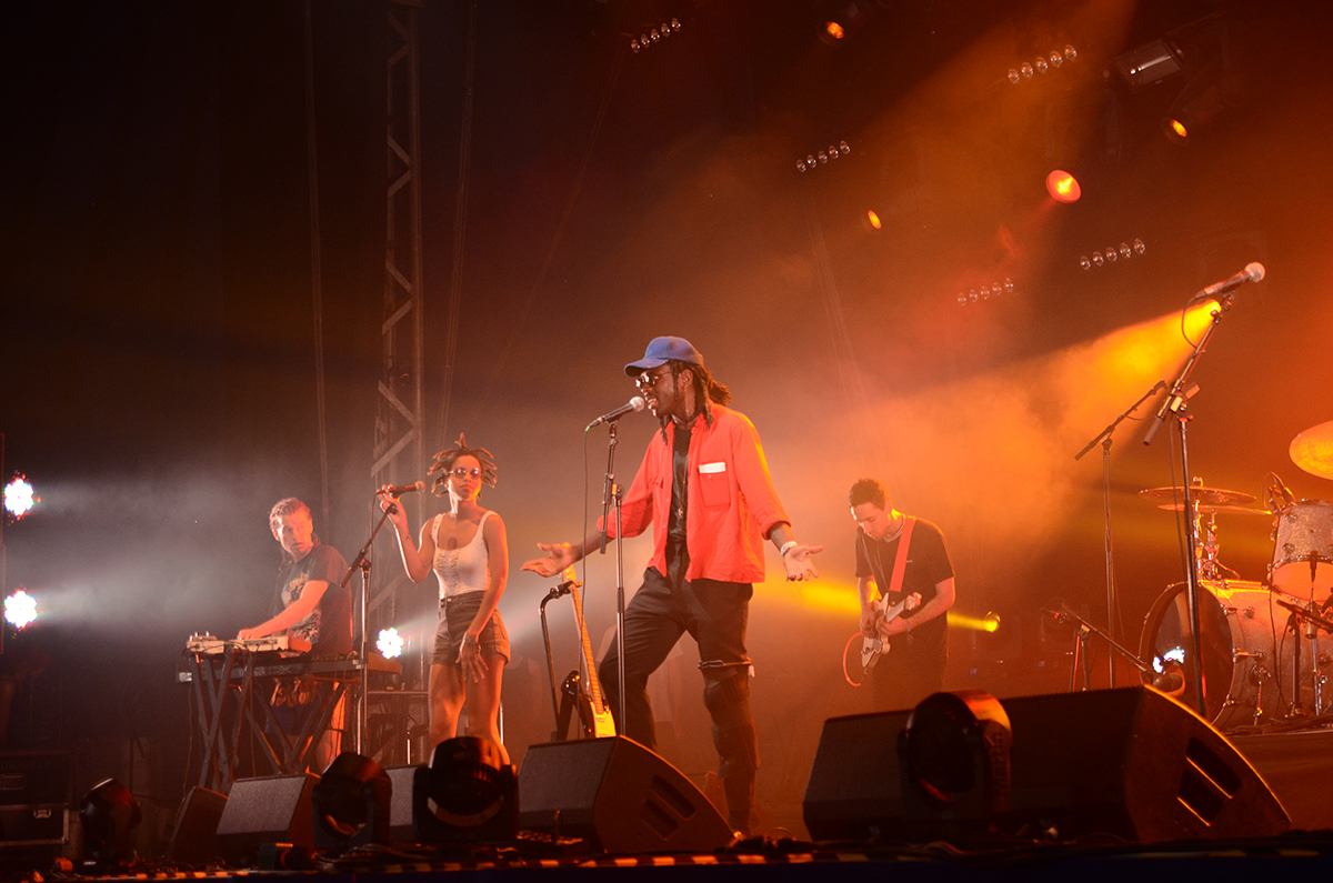 Концерт фестиваля Flow Festival