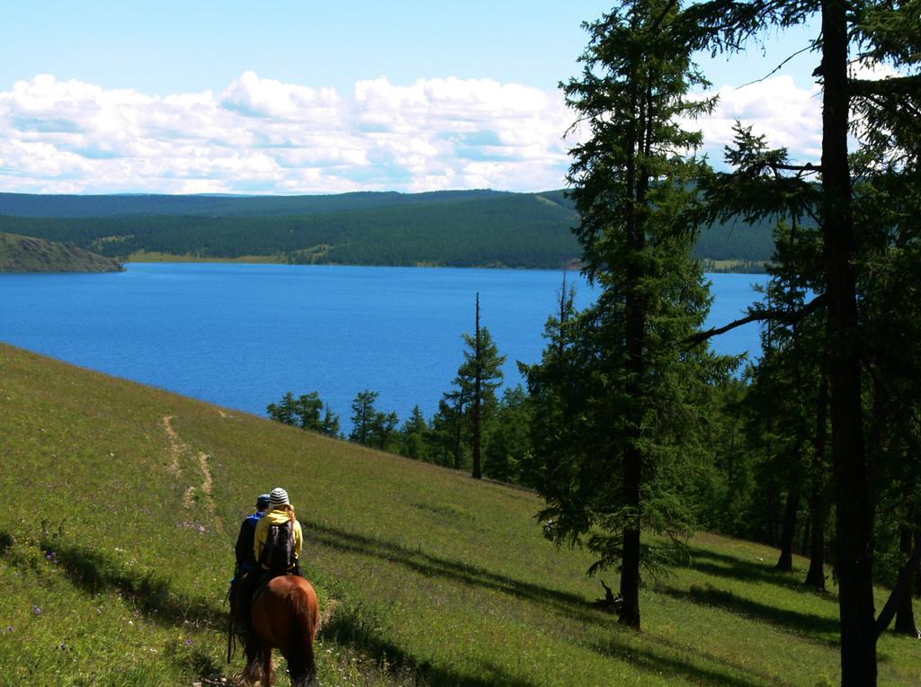 Озеро Хубсугул, панорама