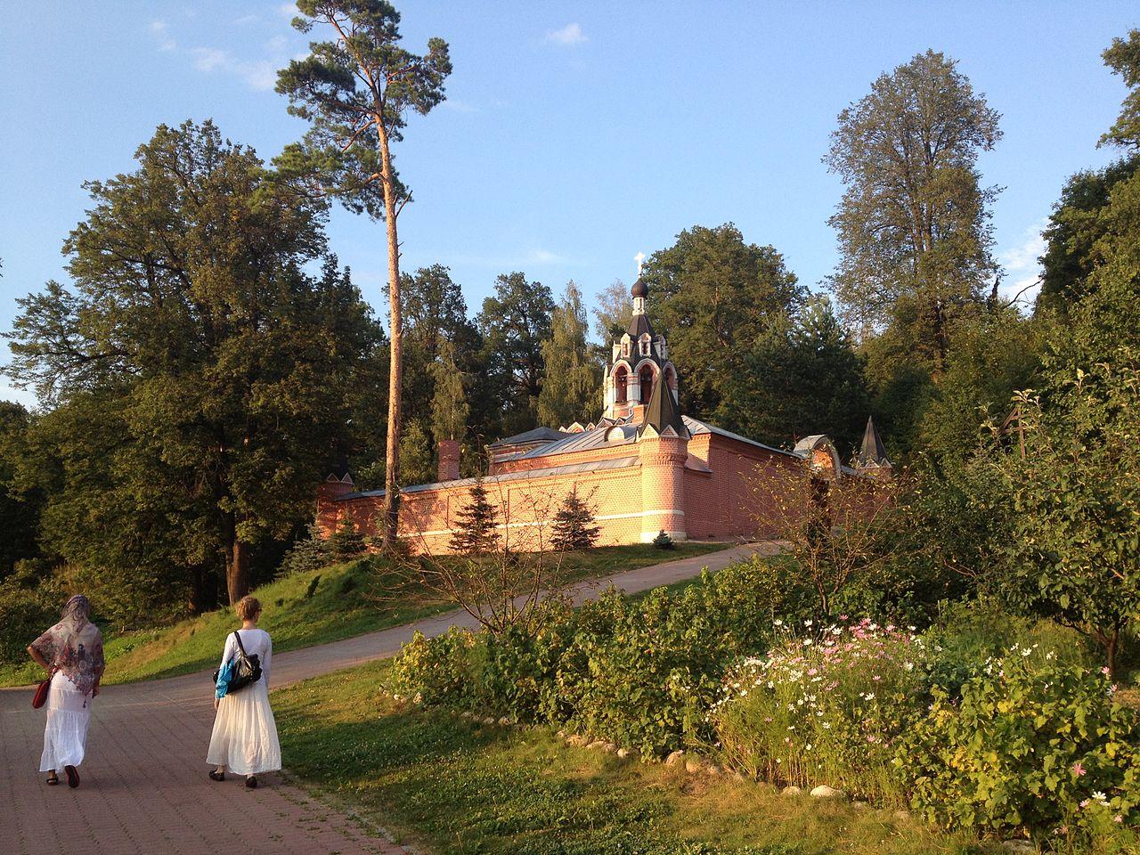 Вид на Саввинский скит, Звенигород