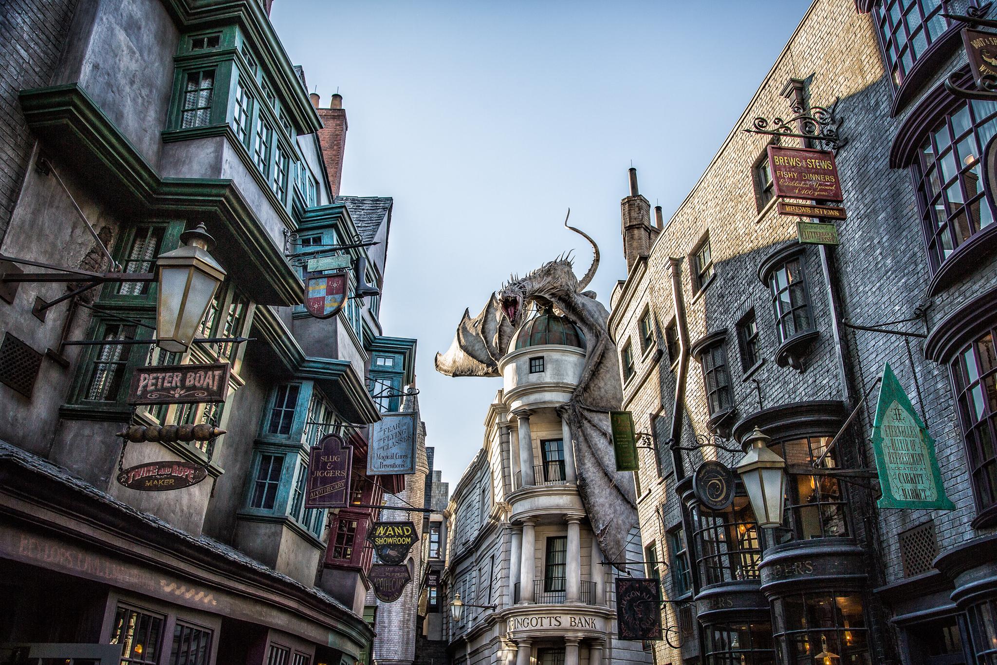 Волшебный мир Гарри Поттера, Косой переулок