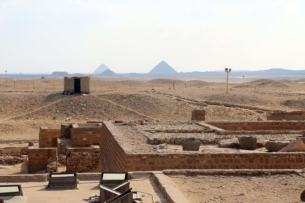 Дахшур, некрополь египетских фараонов Древнего и Среднего царств