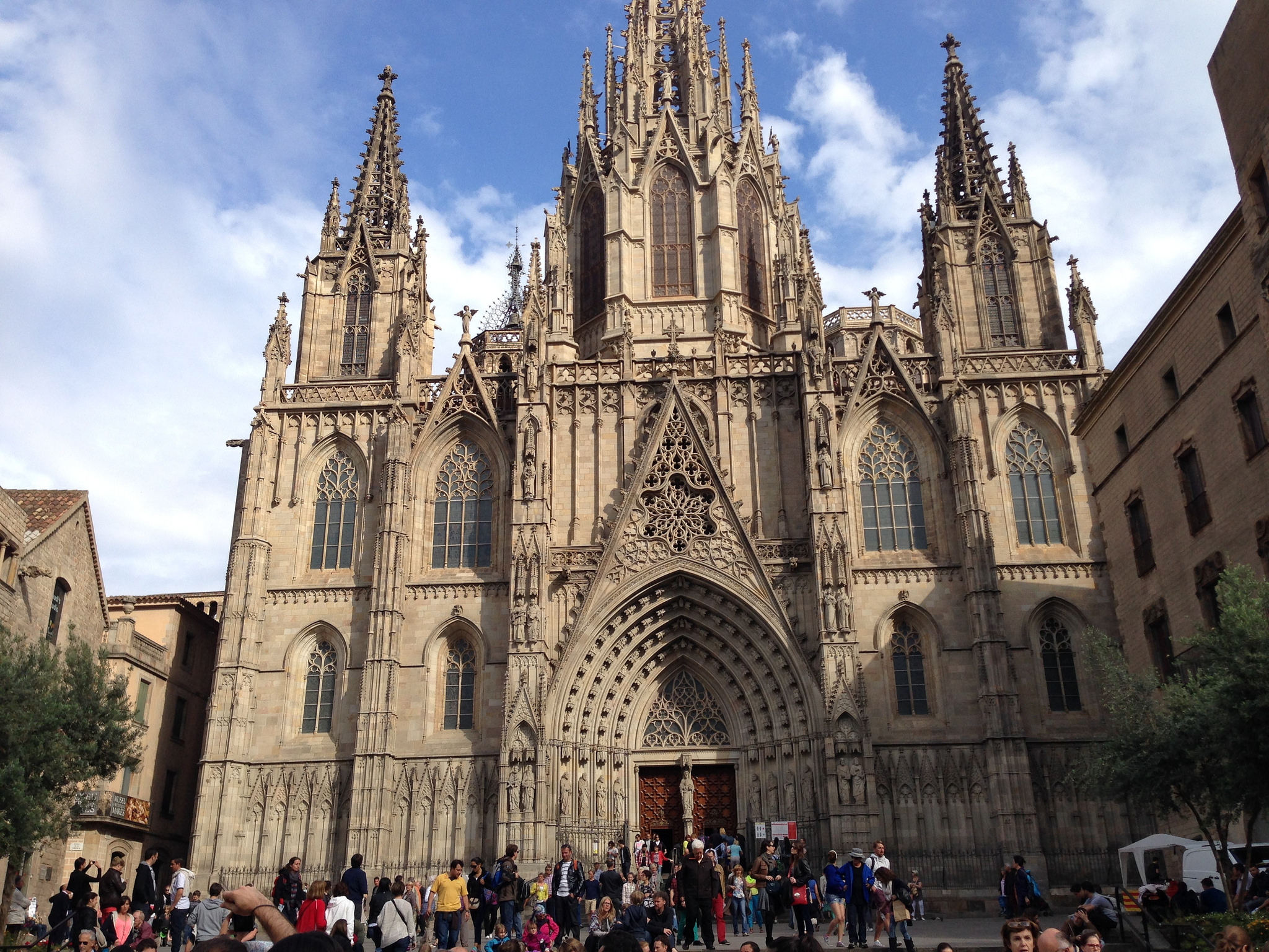 Кафедральный собор Барселоны