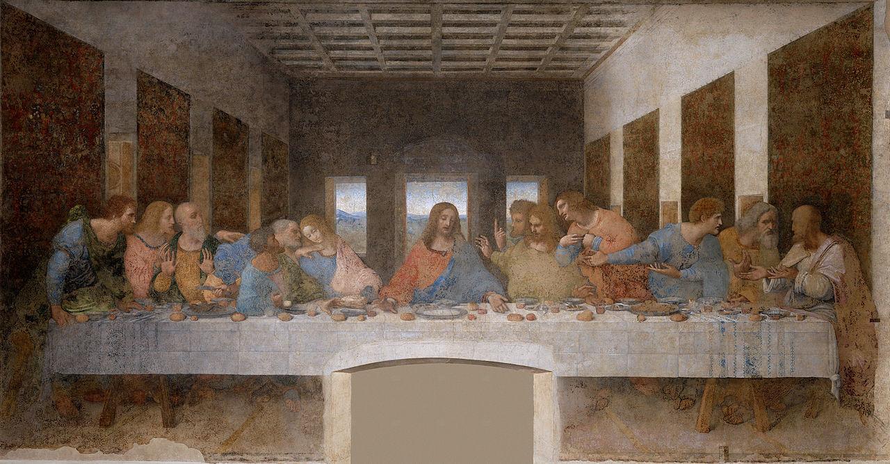 Санта-Мария-делле-Грацие, фреска