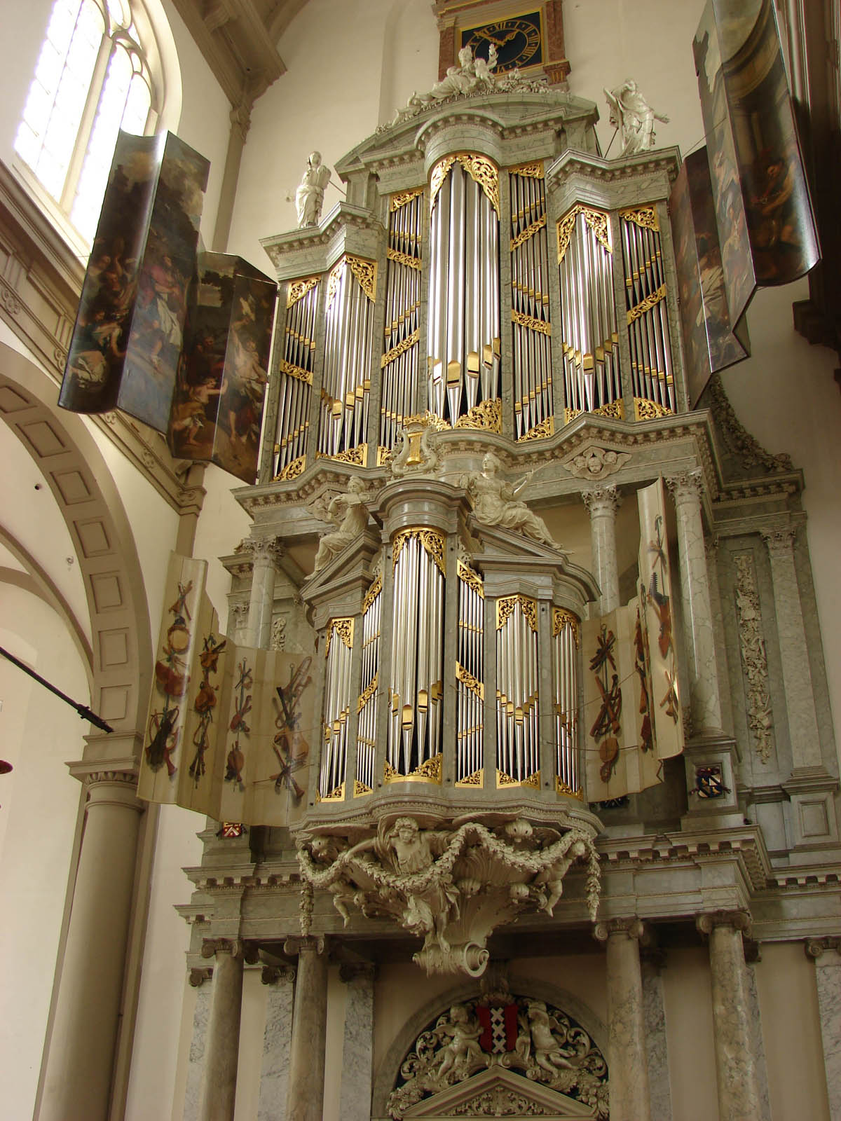 Вестеркерк, орган