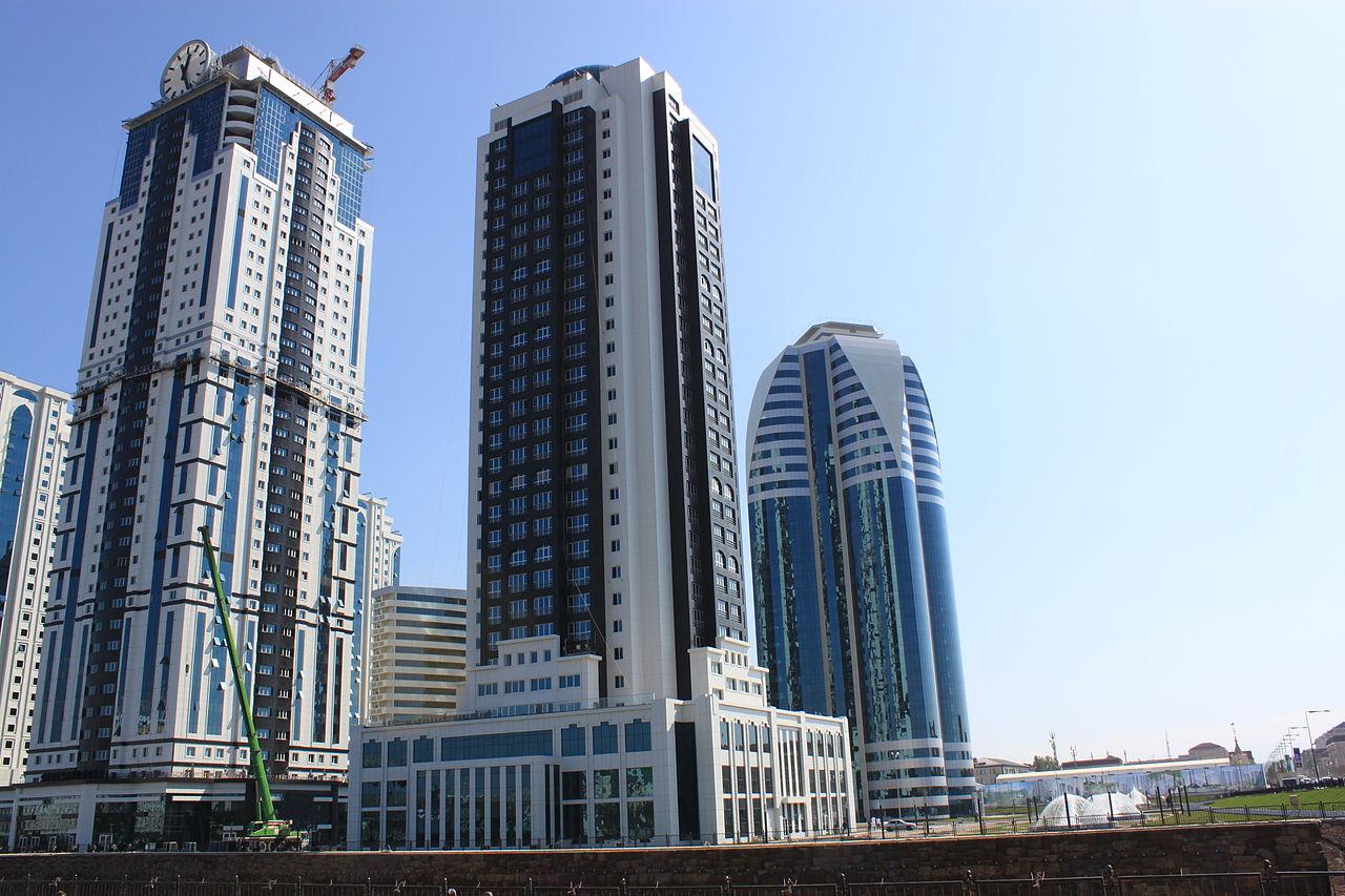 новый город грозный сити фото фотошоп для