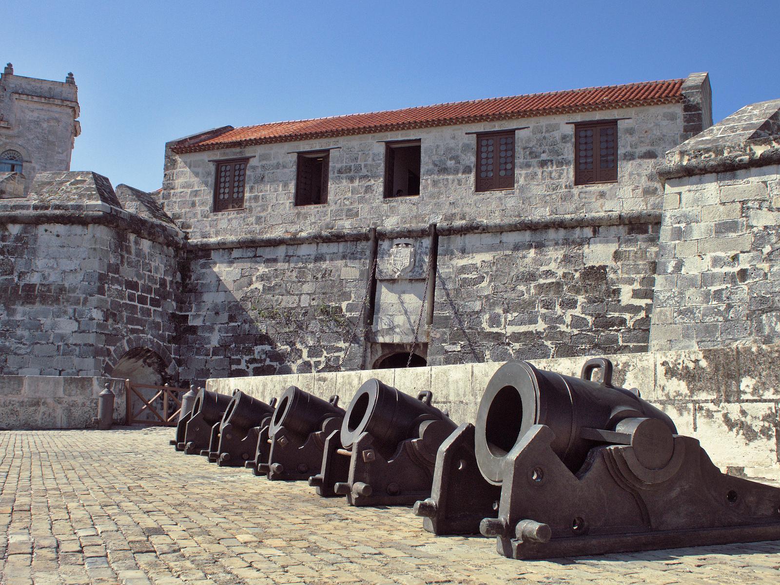 Крепость Ла-Реаль-Фуэрса, двор