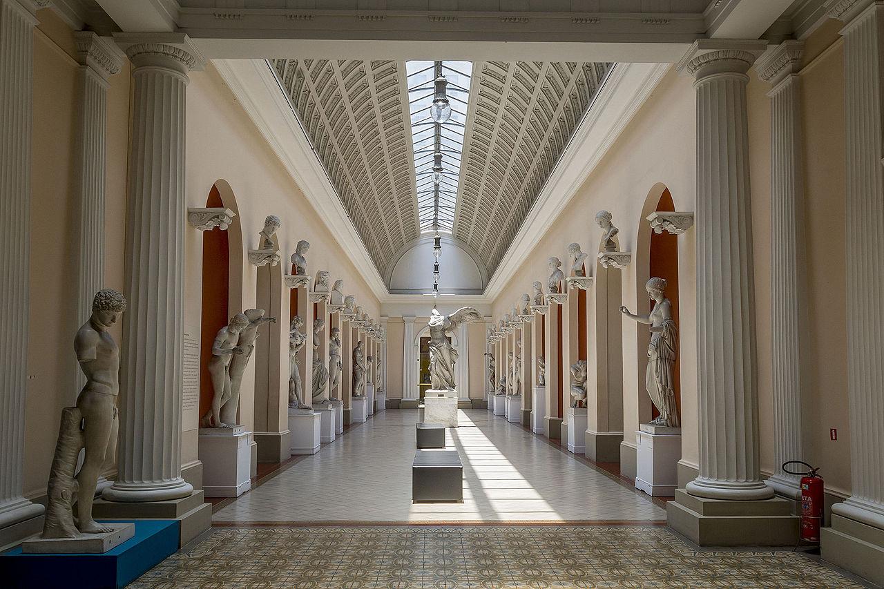Национальный музей изобразительных искусств, интерьер