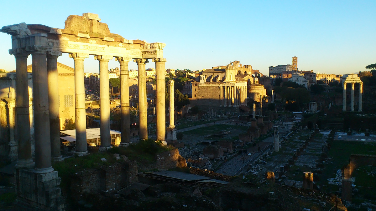 Римский Форум в Риме - история фото описание как добраться карта