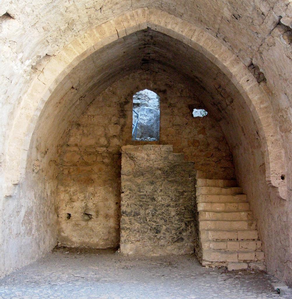 Руины замка Святого Иллариона, Северный Кипр