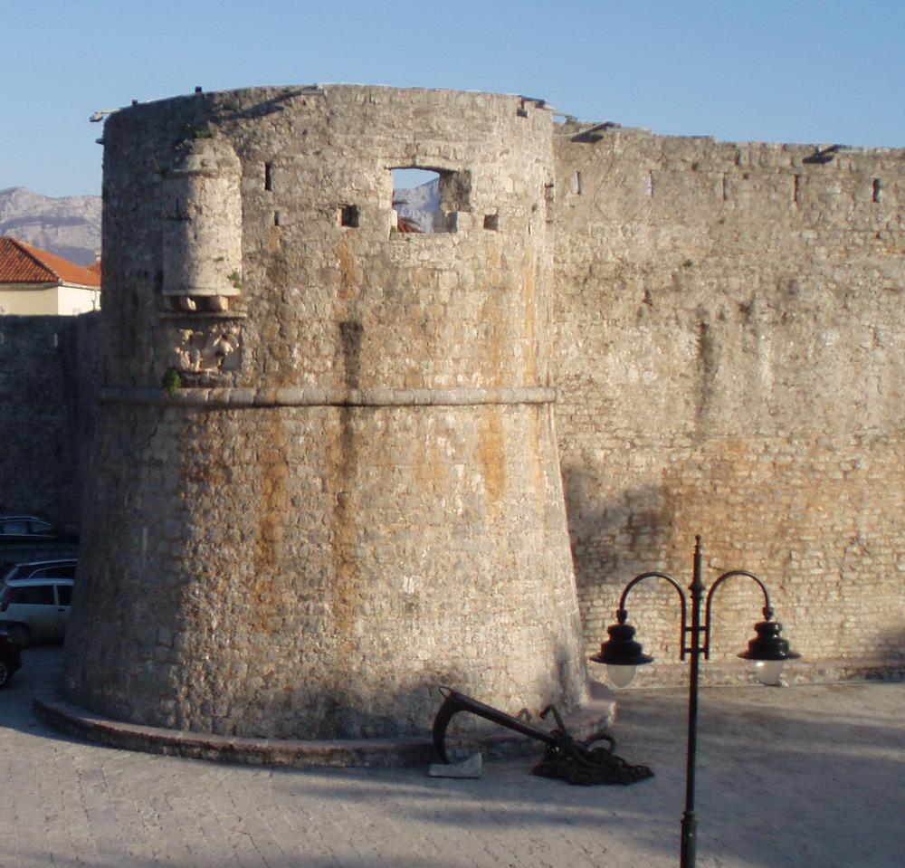 Старая Будва, крепостная стена
