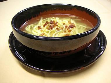 Суп «Тальолини с Бомбой»