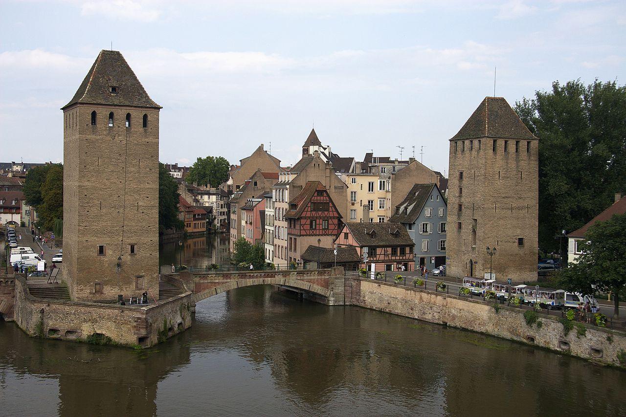 Квартал Маленькая Франция в Страсбурге, мост