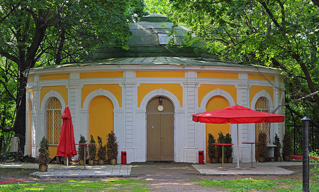 Охотничий домик в Нескучном саду, Москва