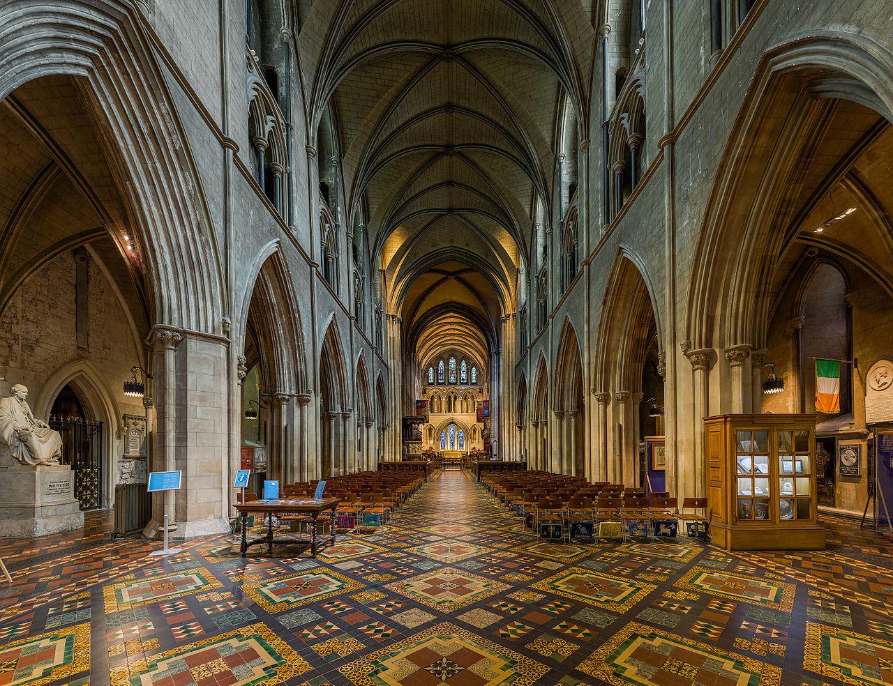 Собор Святого Патрика в Дублине, интерьер