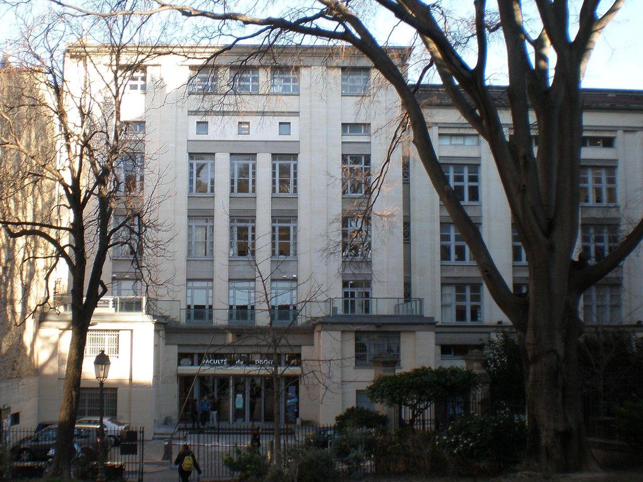 Университет Монпелье, здание юридического факультета