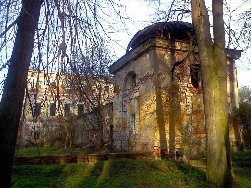 Усадьба Гребнево, западный павильон