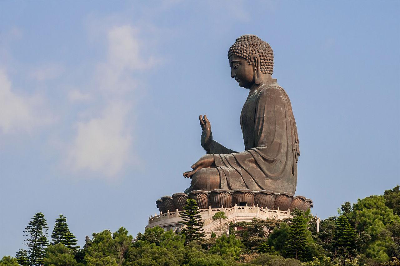 Большой Будда на острове Лантау, Гонконг