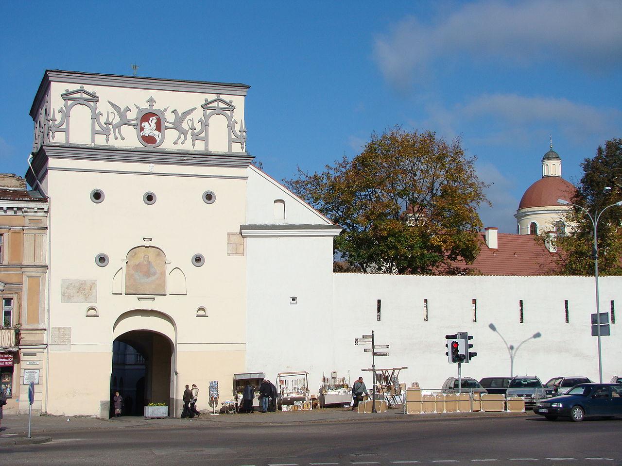 Городские ворота Аушрос в Вильнюсе