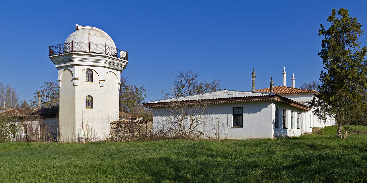 Дом Петера Симона Палласа в Ботаническом саду, Симферополь