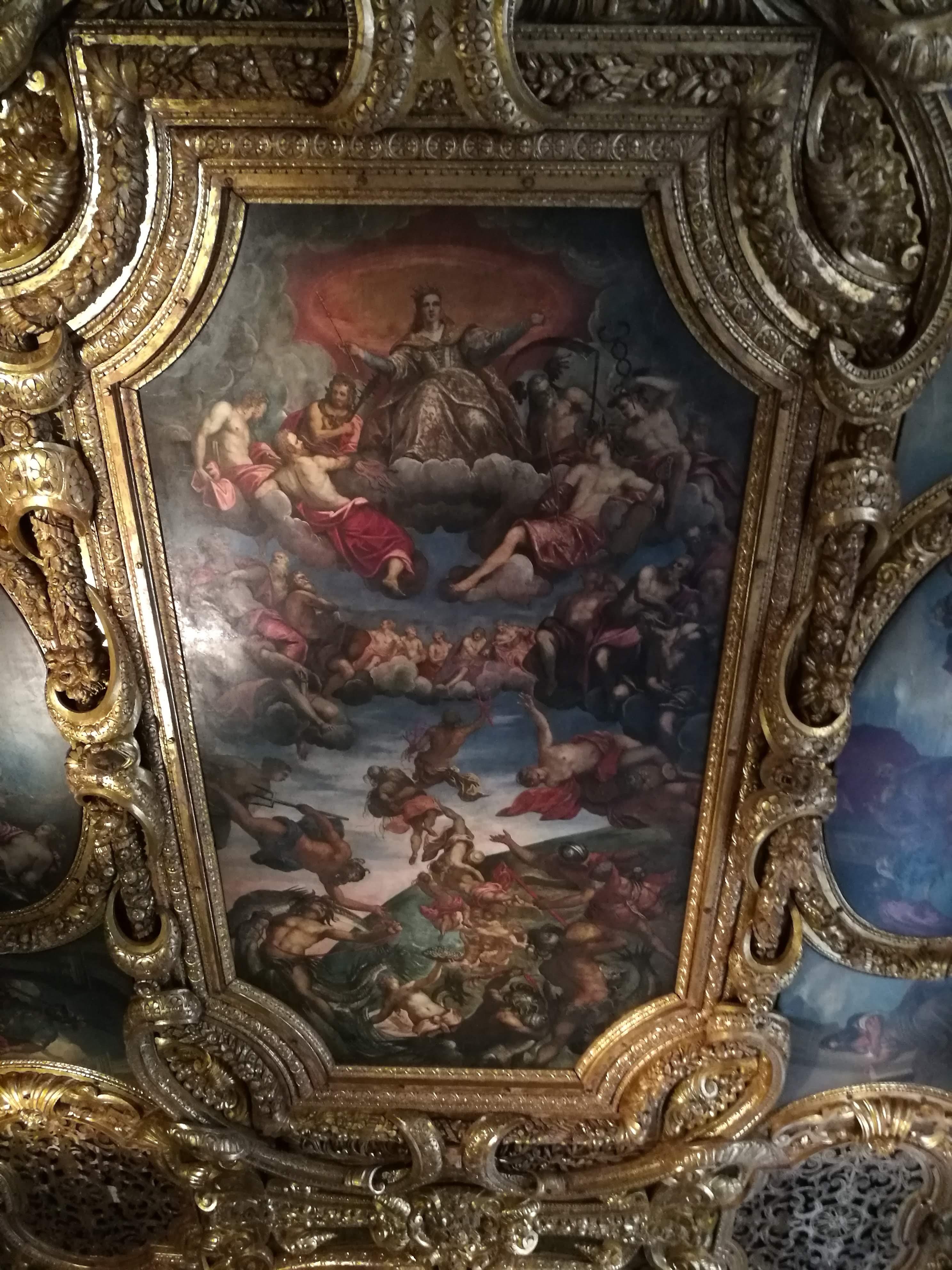 Картины во Дворце дожей в Венеции