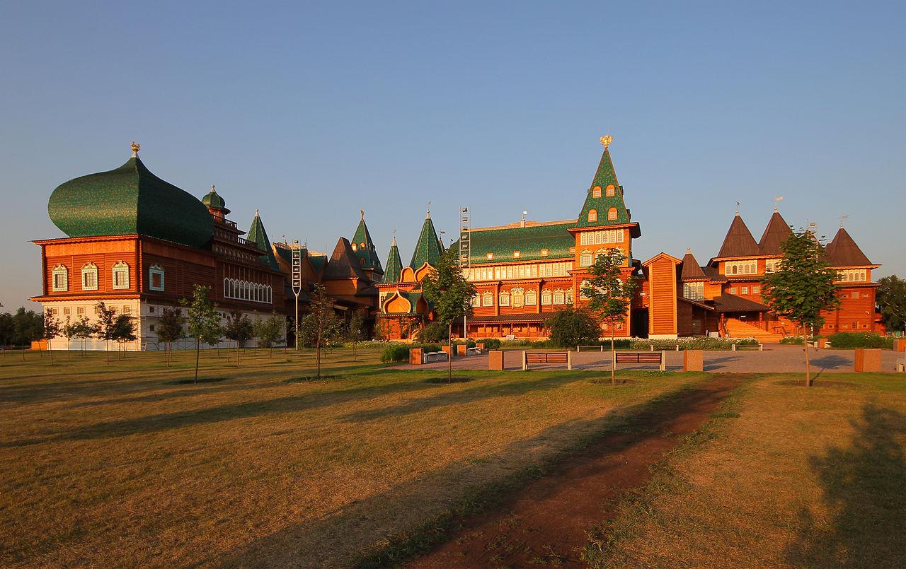 Коломенский дворец, реконструкция