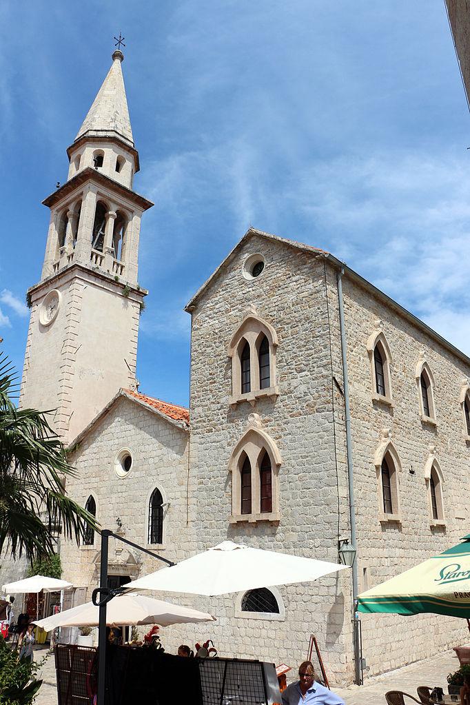 Старая Будва, церковь святого Иоанна