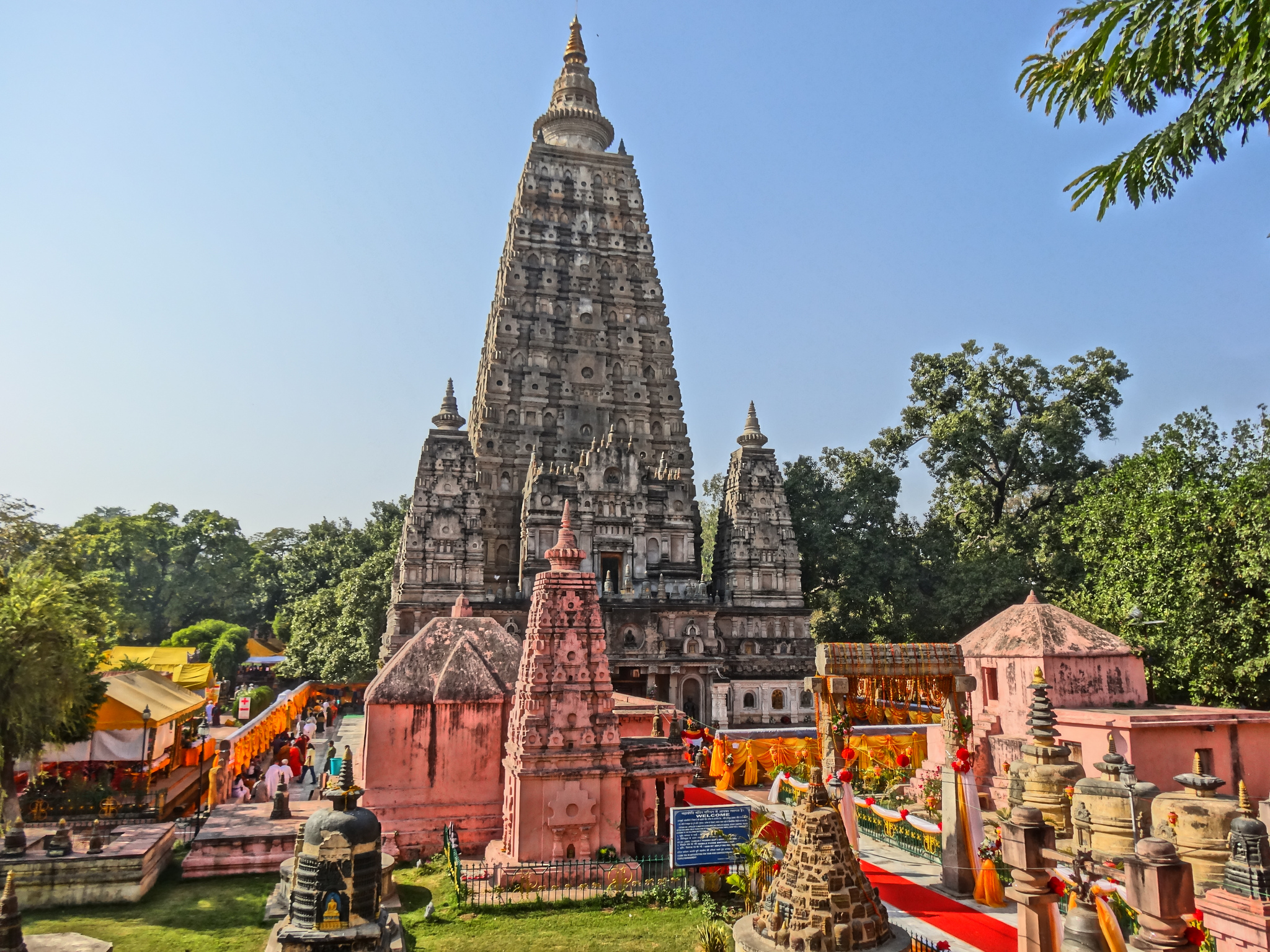 Храм Махабодхи в индийском штате Бихар
