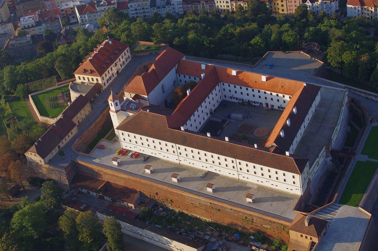 Замок Шпильберг, панорама