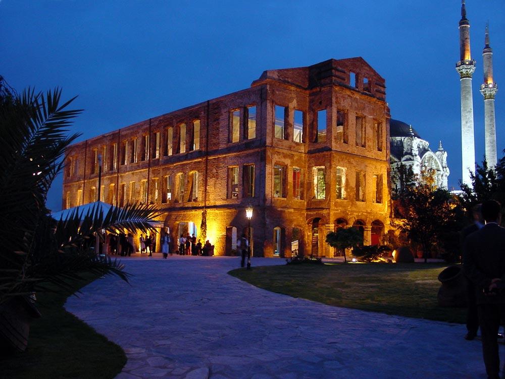 Район Ортакёй, особняк султана