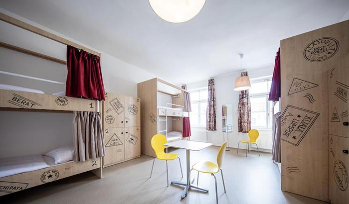 5 симпатичных и недорогих отелей в Праге Post Hostel Prague 5.jpg