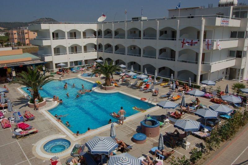 Родос отели все включено 1 линия цены