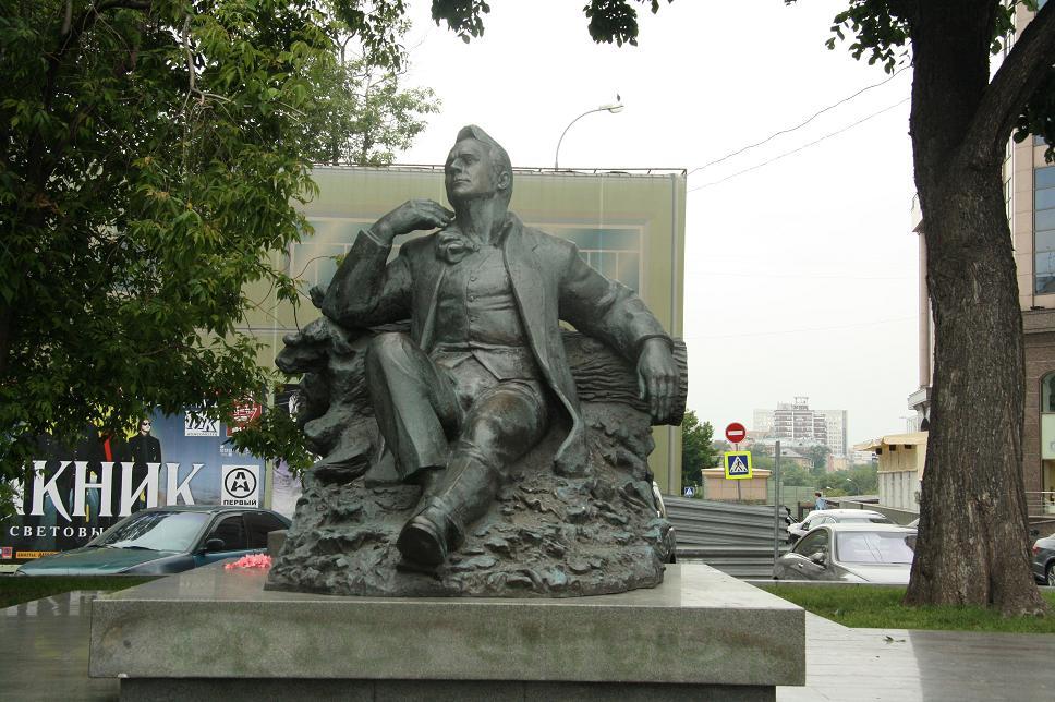 Памятник Шаляпину, Москва