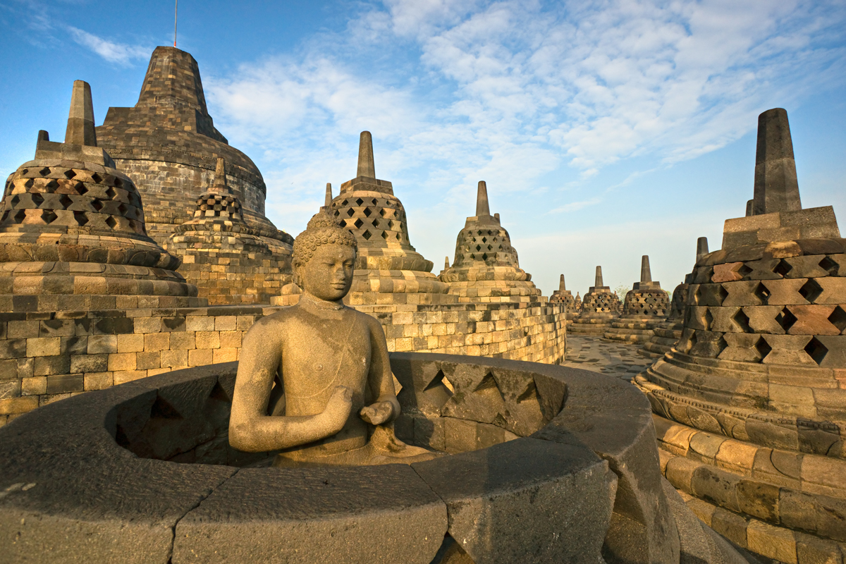 a history of indonesia and the island of java