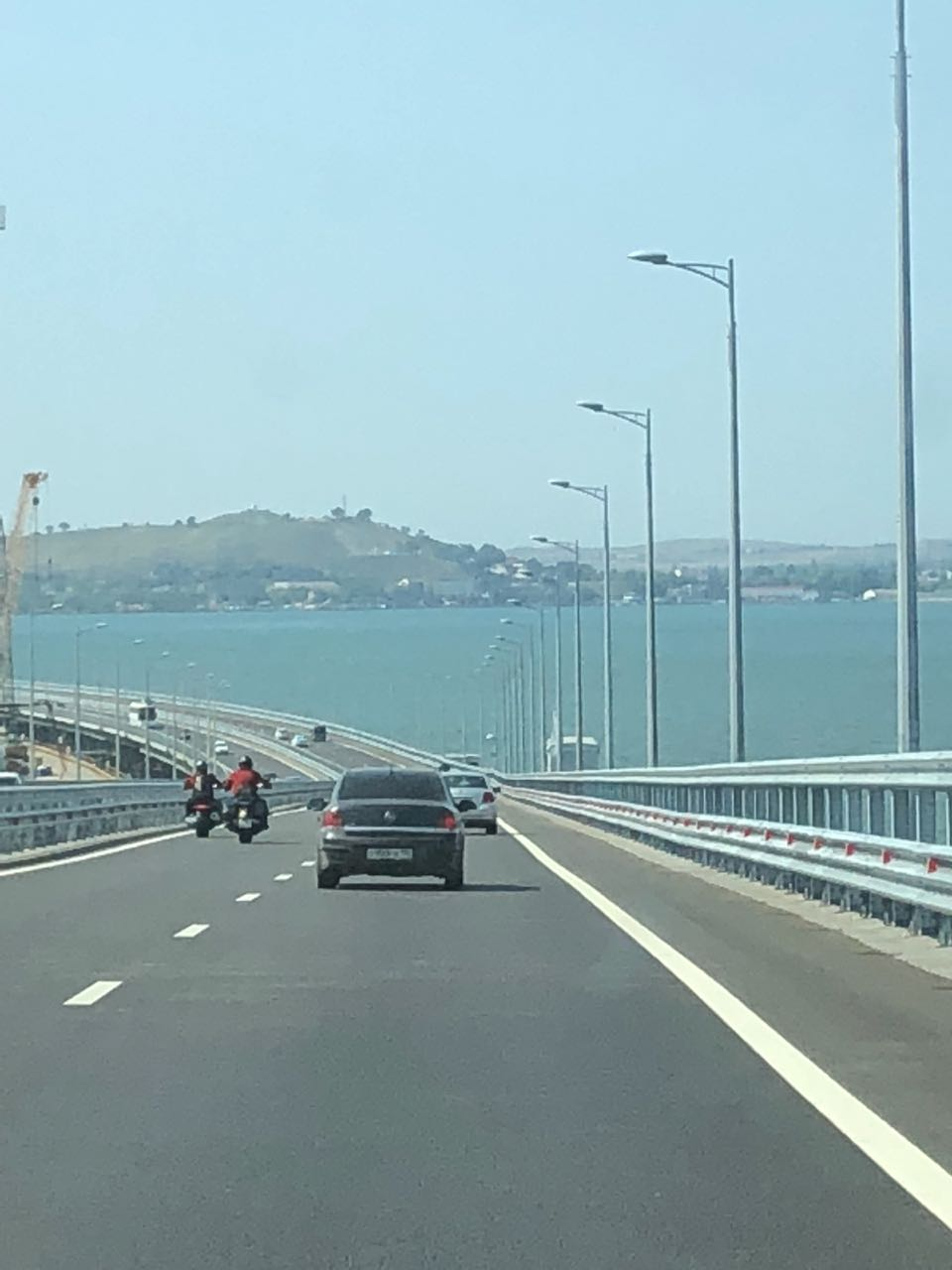 Автодорога, Крымский мост.