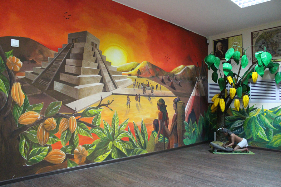Залы в «Музее пряника во Владимире»
