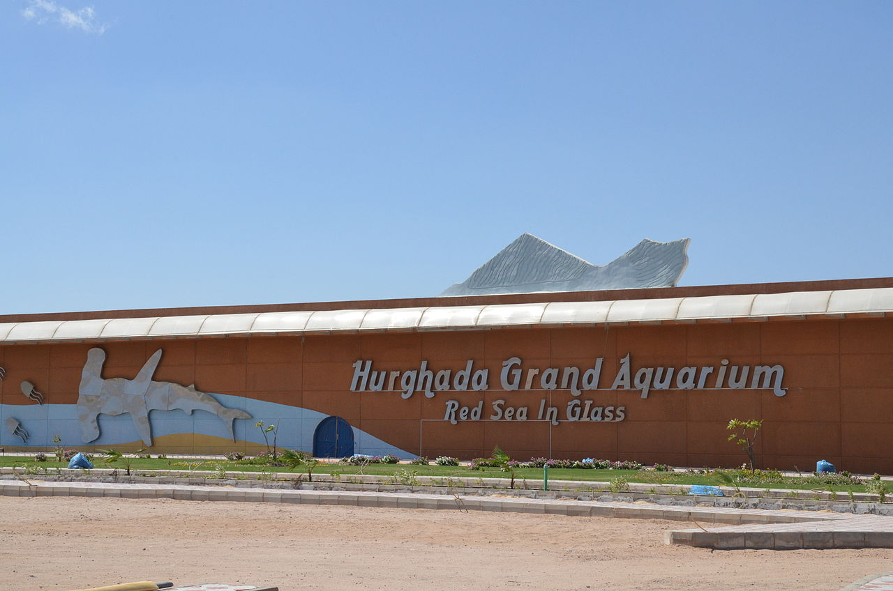 Здание Hurghada Grand Aquarium, Египет