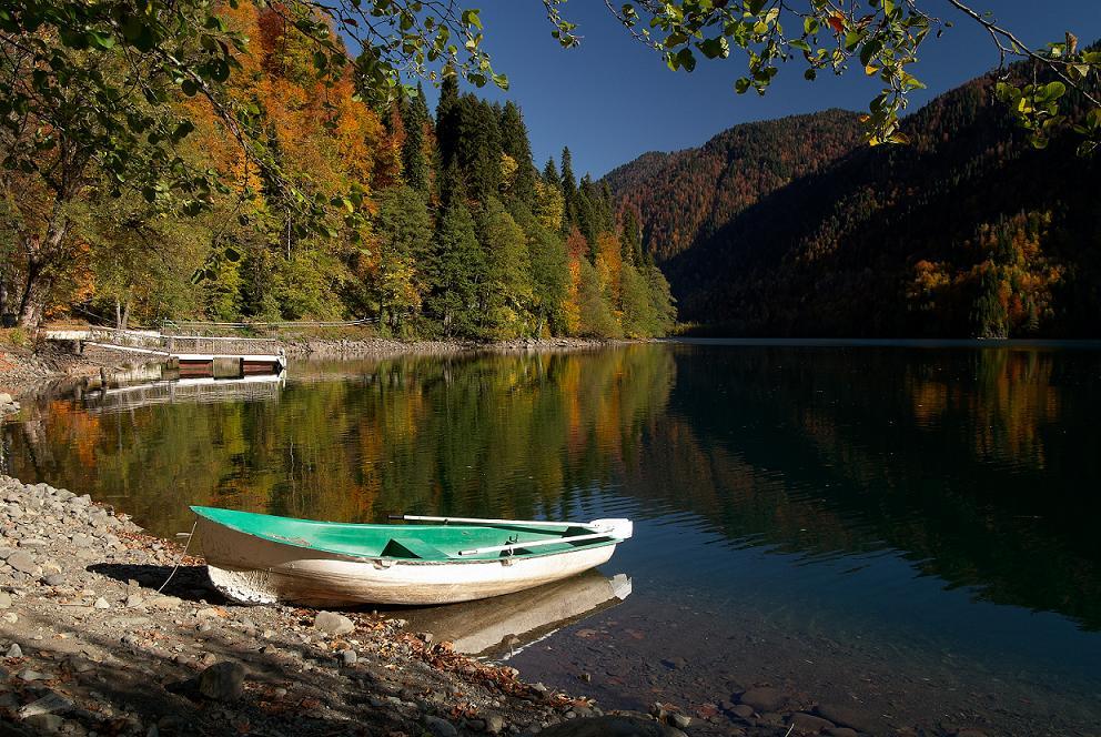 озеро рица абхазия отдых фото